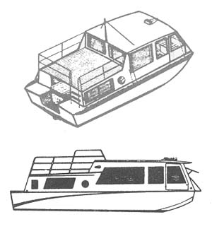 Houseboat Floorplans and Design