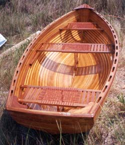 boat plan strip Cedar